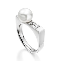 Luna Ice South Sea Pearl Ring