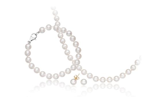Akoya Pearl Wedding Jewellery Set