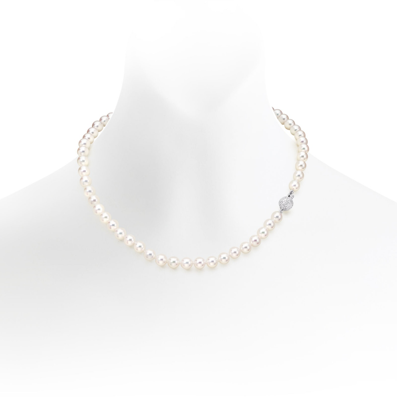 Sonatina Diamond and Pearl Necklace-ANWRWG0267-1