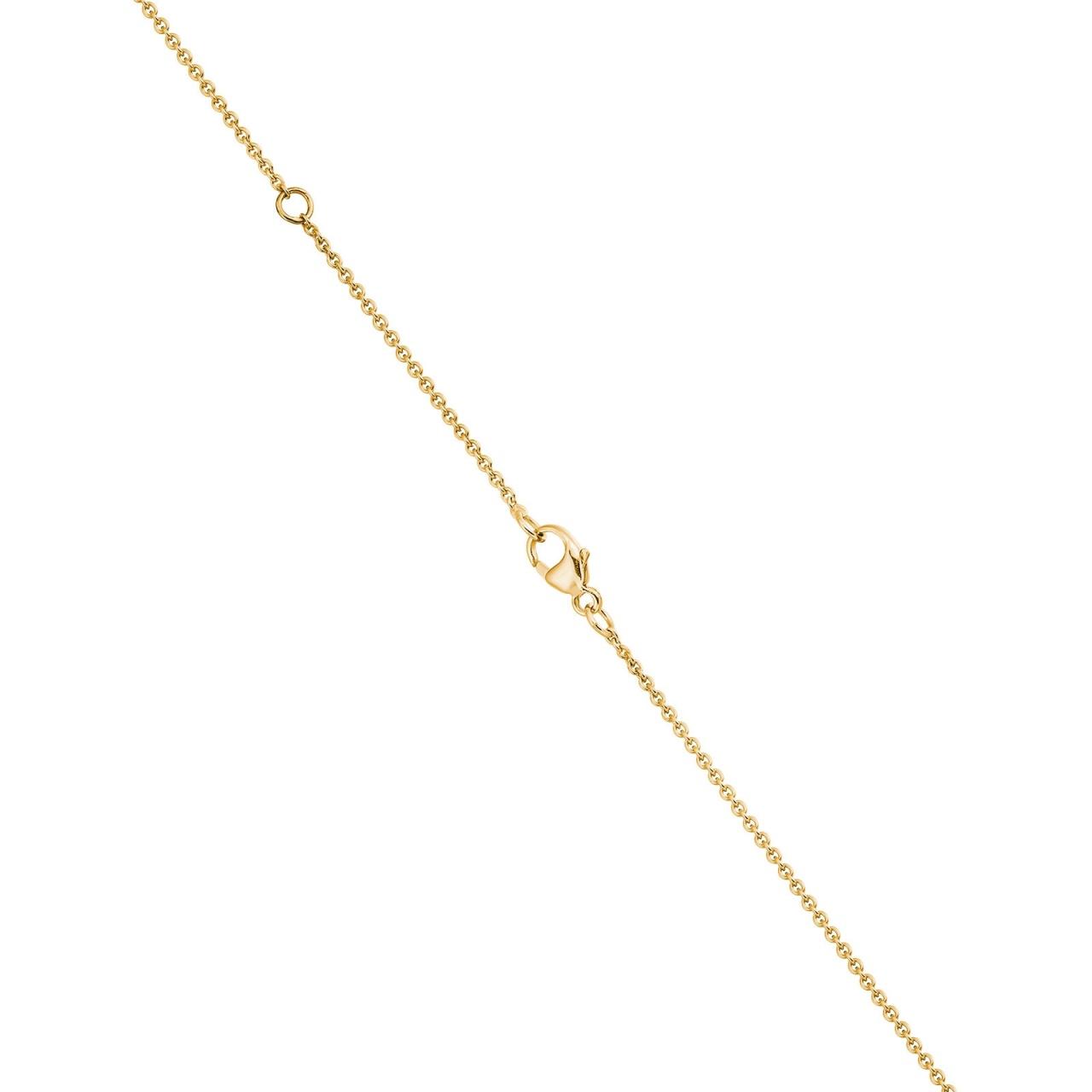 Astral Blaze Akoya Pearl Pendant in Yellow Gold-APWRYG1331-1