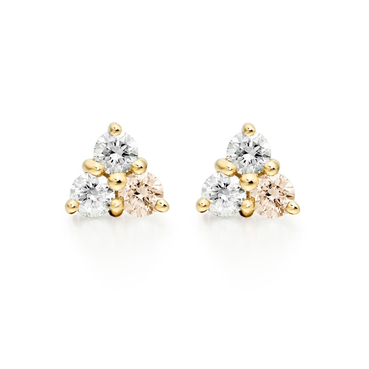 Astral Moon Earrings in Yellow Gold-EADIYG1100-1