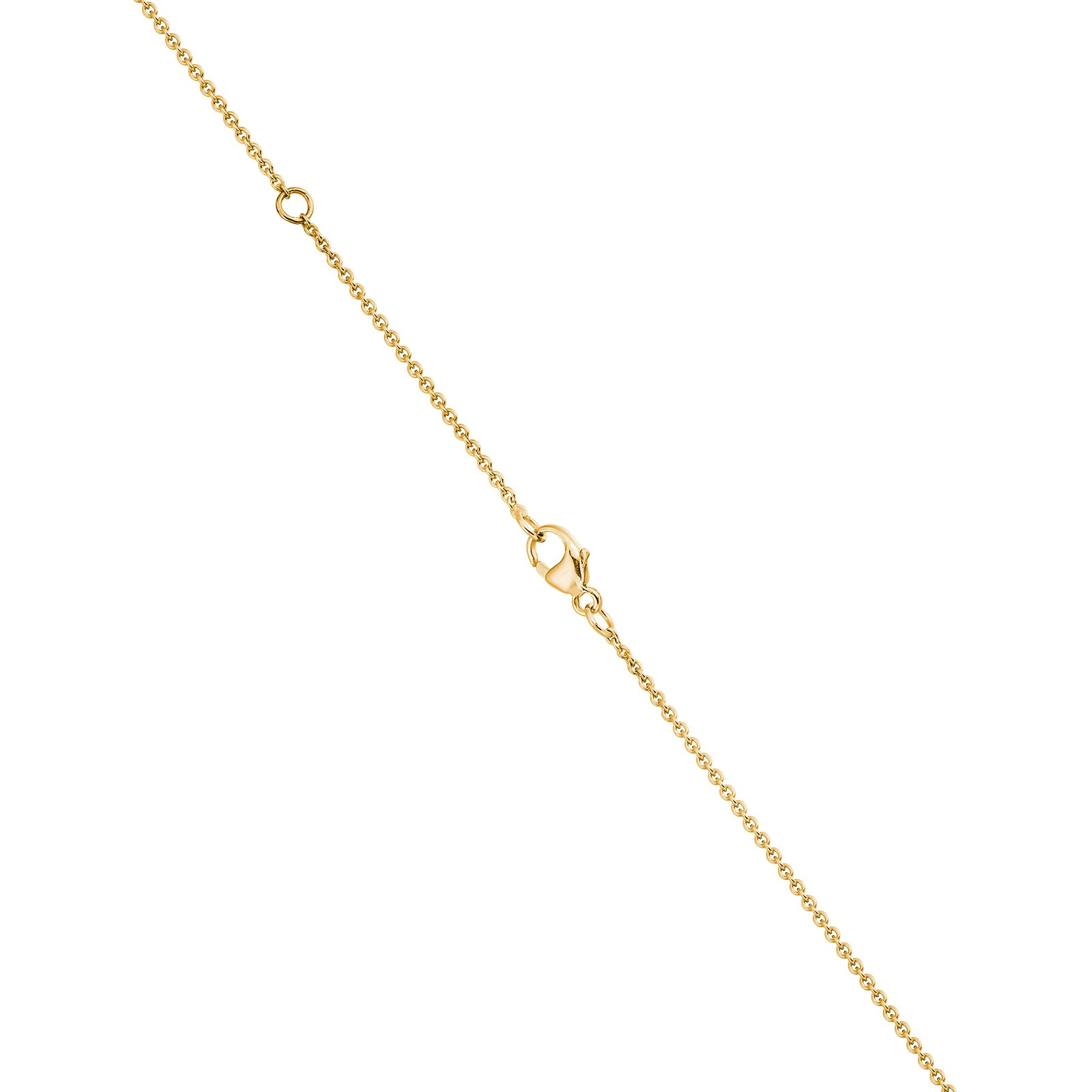 Classic 0.10ct Diamond Pendant with Yellow Gold-1
