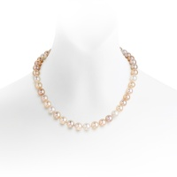 Luxury Multi-coloured Freshwater Pearl Necklace