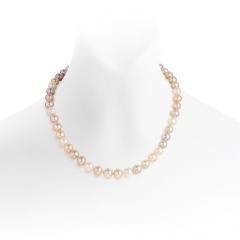 Classic Multi-coloured Freshwater Pearl Necklace