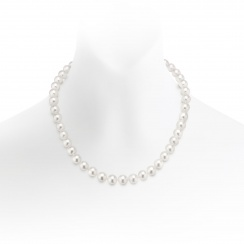 Serenade Diamond and Pearl Necklace in White Gold-ANWRWG0545-1