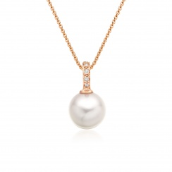 Mythologie Akoya Pearl and Diamond Pendant in Rose Gold-APVARRG1079-2