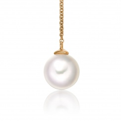 Akoya Pearl Lariat in Rose Gold-APWRRG1161-2