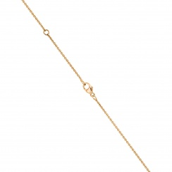 Zigzag Diamond Pendant in Rose Gold-PEDIRG0578-3