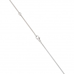 18 Carat White Gold Trace Chain 1mm Width-2