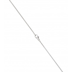 Freshwater Pearl Lariat in White Gold-3
