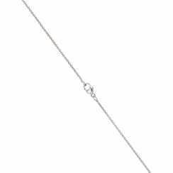 Classic Single Freshwater Pearl Necklace with White Gold Chain-2