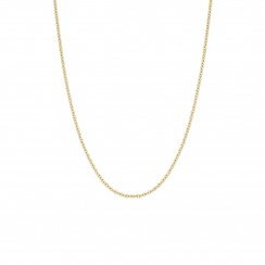 18 Carat Yellow Gold Trace Chain 1mm Width-1