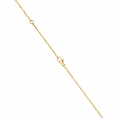 Classic 0.10ct Diamond Pendant with Yellow Gold-3