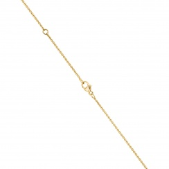 Zigzag Diamond and Akoya Pearl Pendant in Yellow Gold-APWRYG1117 -3