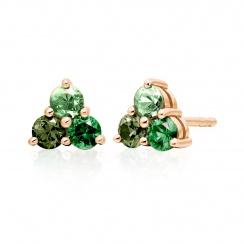 Astral Aurora Stud Earrings in Rose Gold-EAAURG1159-1
