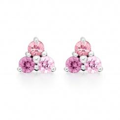 Astral Dawn Earrings in White Gold-EADAWG1015-2