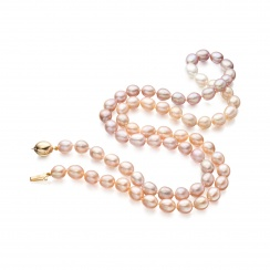 Blush Sunset Necklace-2