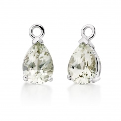 Classic Leverbacks with Mythologie Green Amethyst Drops in White Gold-EAGAWG1107-3
