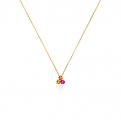 Astral Blaze Pendant in Yellow Gold-PEBLYG1007-2