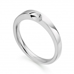 Classic White Gold Wedding Band-1