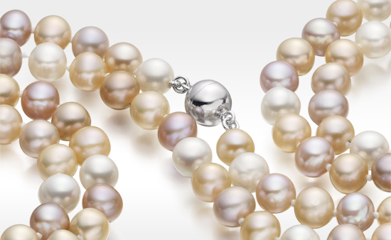 Freshwater Pearls from a Mussel