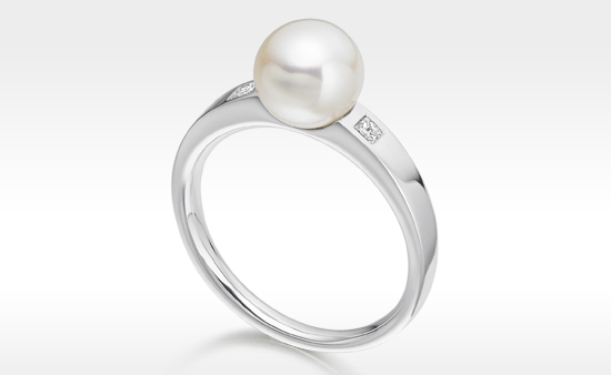 A Love of Pearls - Pearl Engagement Rings