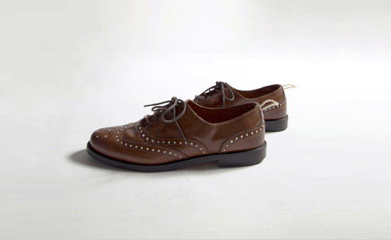 Bella Mung_Pearl Brogue Shoes