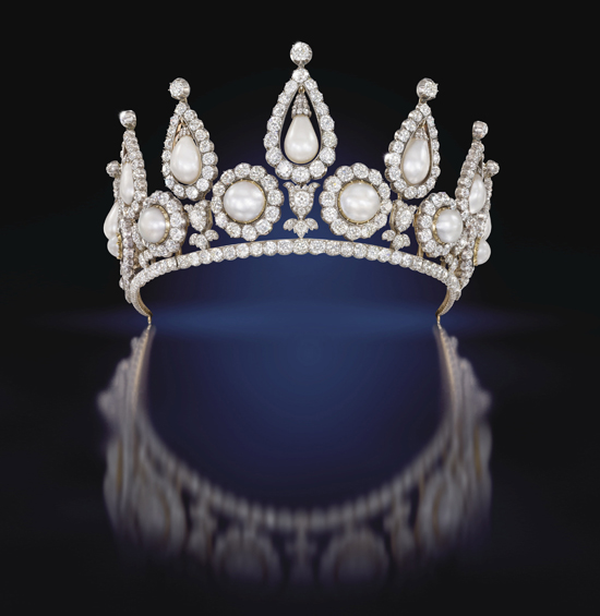Lady Rosebery's pearl and diamond tiara