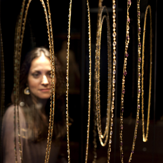Necklaces and Chains at The Cheapside Hoard