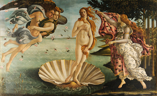 Who Was Botticelli's Famous Venus?