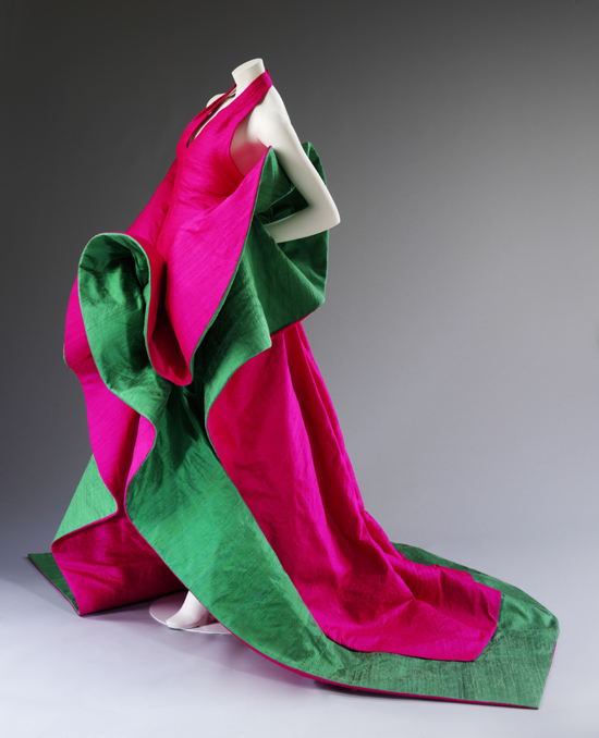 Evening dress of silk, Roberto Capucci