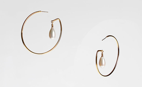 Earrings by Lucy Parker