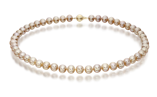 Pink Freshwater Pearl Choker Necklace