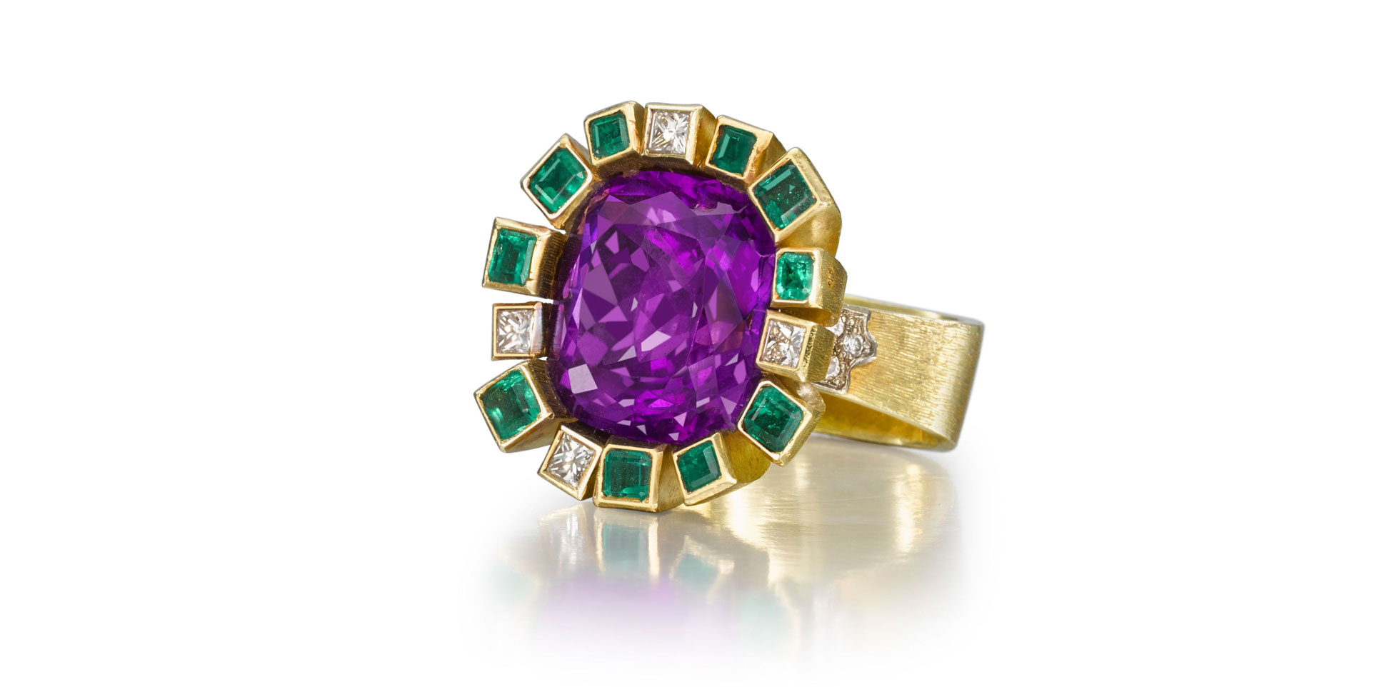 Andrew Grima Amethyst Ring