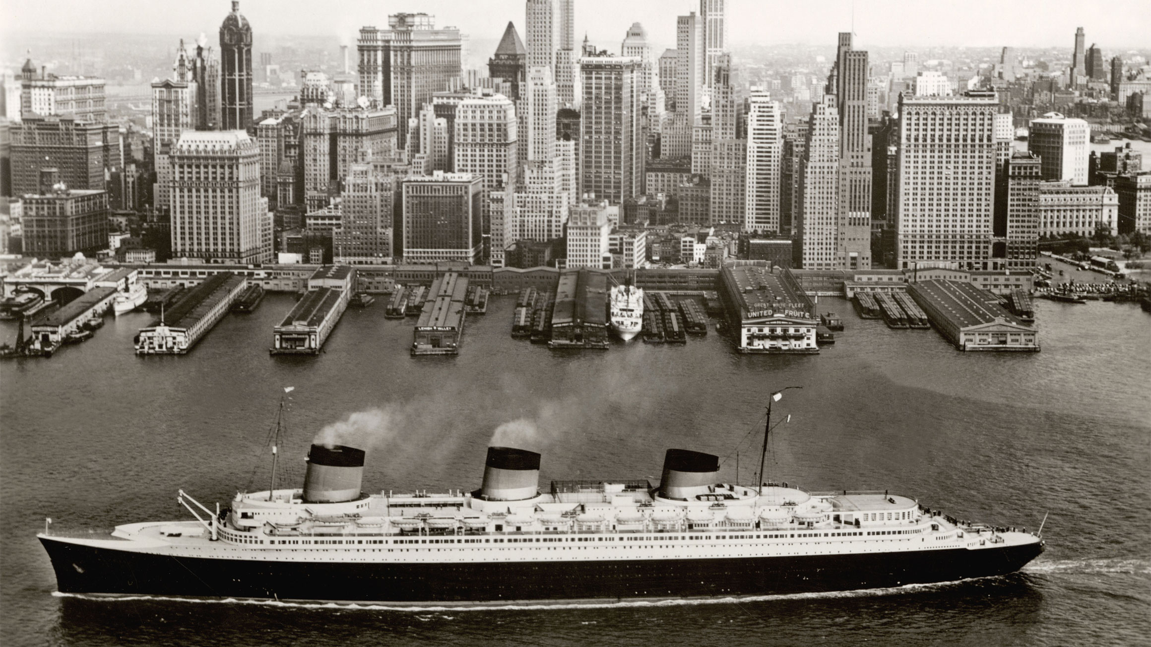 The Speed and Style of the Ocean Liners